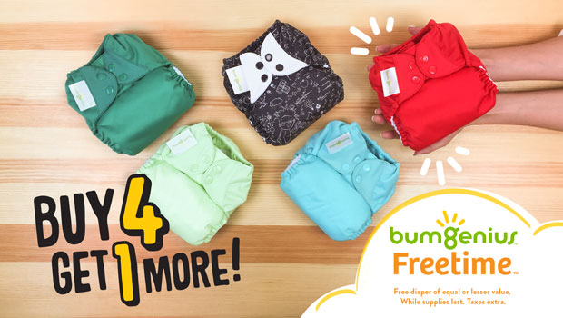 bumGenius Freetime Sale
