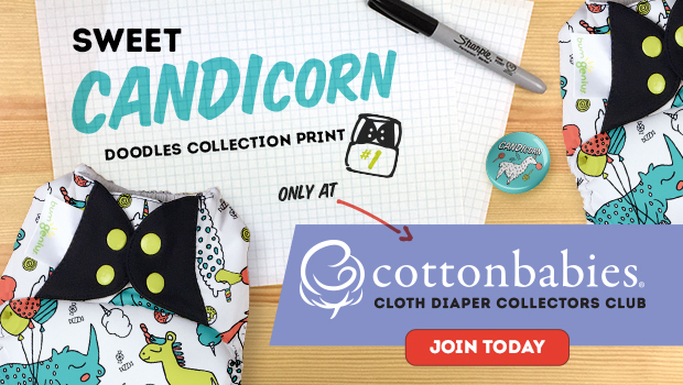 Unicorn cloth diaper - CANDIcorn
