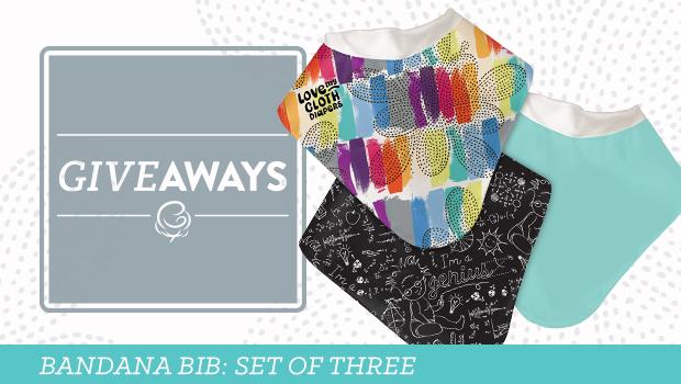 bandana bib giveaway