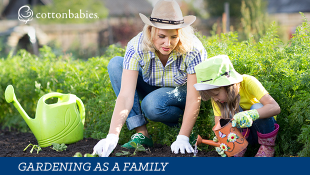 Gardening as a family