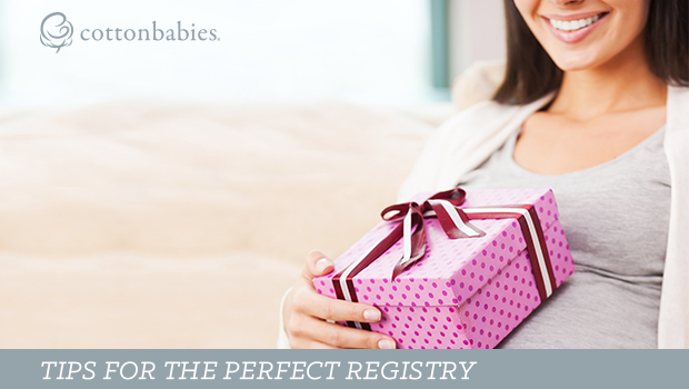 Tips for making the perfect baby registry.