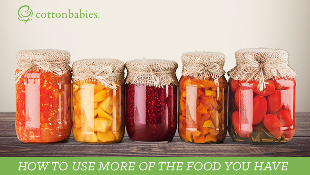 Ideas for what to do with the food you have. Don't throw it away!