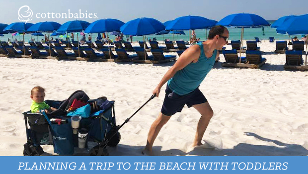Tips for taking toddlers on a beach vacation.
