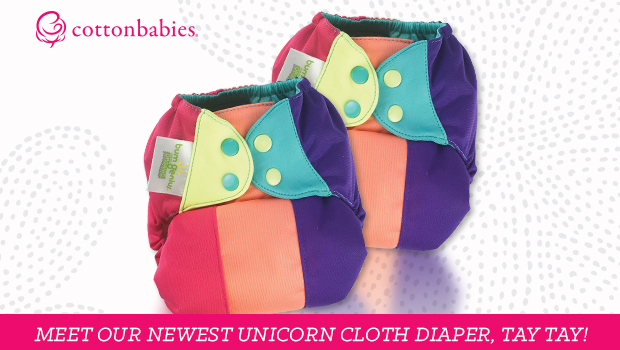 Tay-Tay Unicorn cloth diaprer by bumGenius available now!