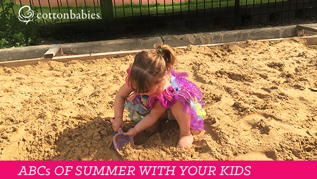 Fill your summer with FUN! Make your own ABC checklist of activities to do with your kids.
