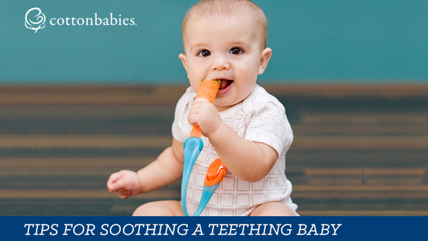 Top ways to soothe a teething baby.