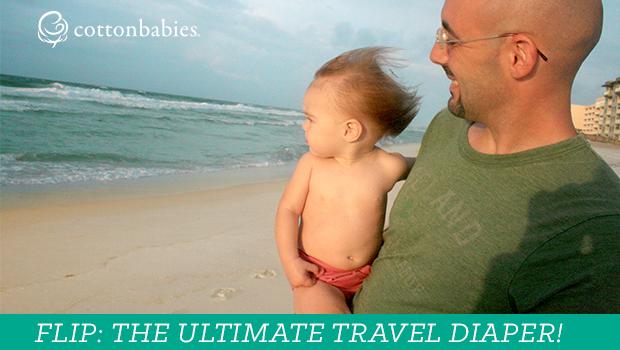 Flip cloth diaper cover: The Ultimate Travel Diaper