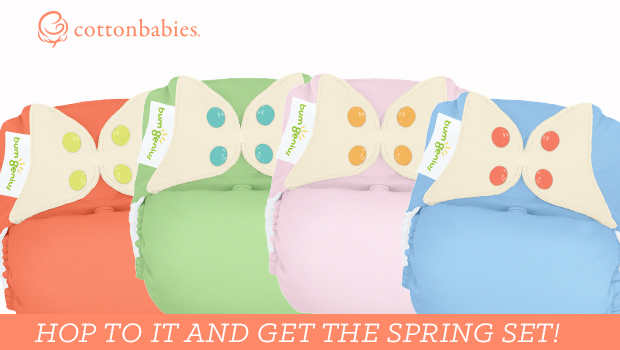Hop to it! Get the bumGenius Spring Set today!