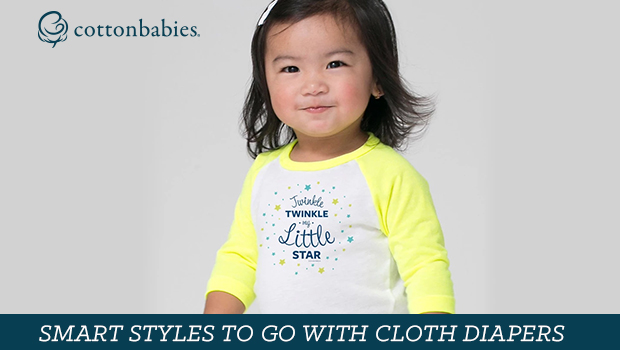 Smart styles to go with cloth diapers - including Genius tees! #bumGenius #clothdiapers