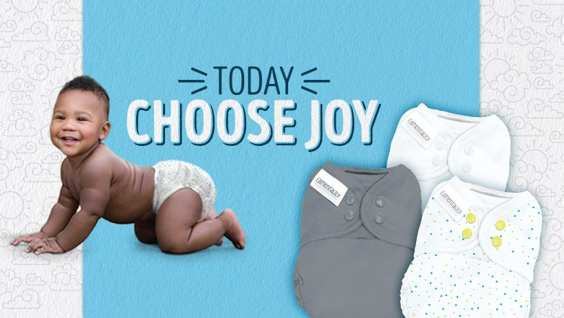 Choose Joy! Tips for getting started with the Elemental Joy Cloth Diaper Kit