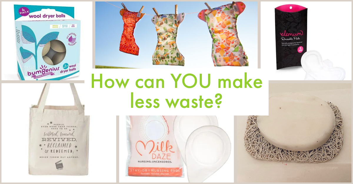 Tips for creating less waste by making simple switches in your life.