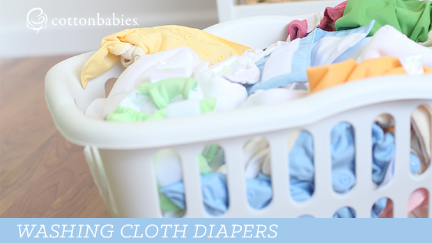 Cloth 101: Washing Cloth Diapers