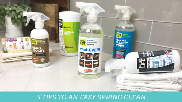 5 Tips to an Easy Spring Clean