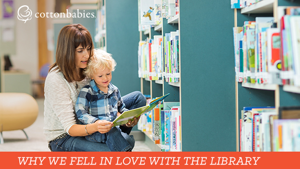 Why you and your kids will love the library.