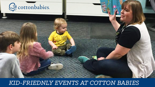 Kid-friendly events at Cotton Babies