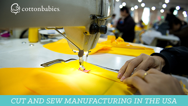 Cut & sew manufacturing in the USA