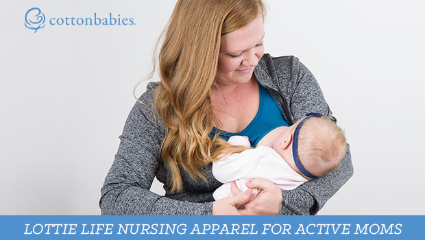 Lottie Life nursing apparel for active moms.