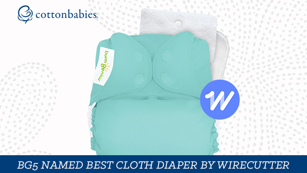 Find out why bumGenius was voted best cloth diaper by Wirecutter.