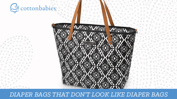 Are you ready for a diaper bag that doesn't look like a diaper bag? Stay stylish with bags from #cottonbabies