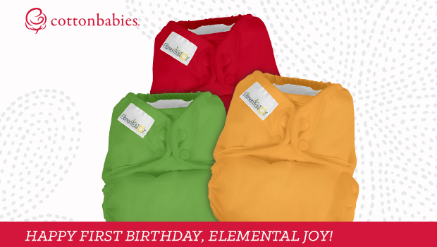 Elemental Joy cloth diapers by Cotton Babies