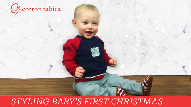Make baby's first Christmas full of style