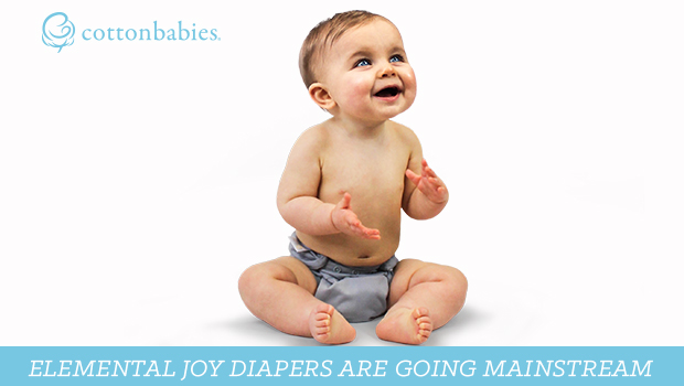 Elemental Joy cloth diapers available in Walmart. Yes- cloth diapers IN the diaper aisle in the world's largest company's stores. #ElementalJoy #choosejoy