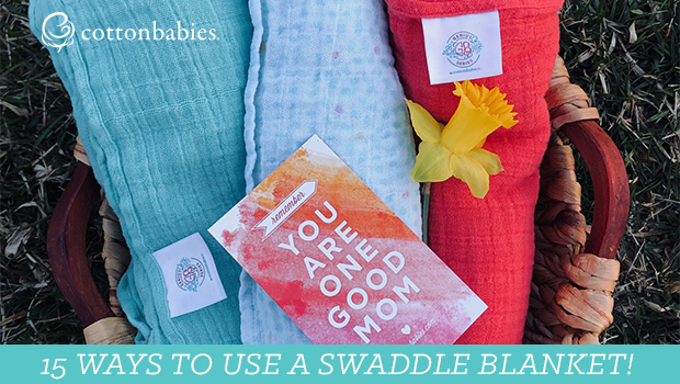 15 Ways to Use a Swaddle Blanket